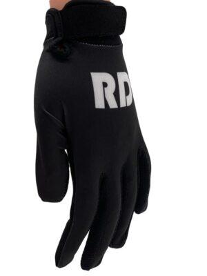 black mtb bmx gloves