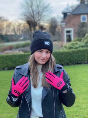 roze dames handschoenen bmx mountainbike mtb moto
