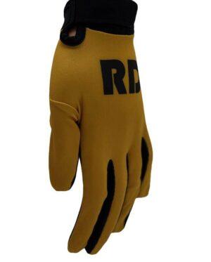 Gold bmx mtb gloves