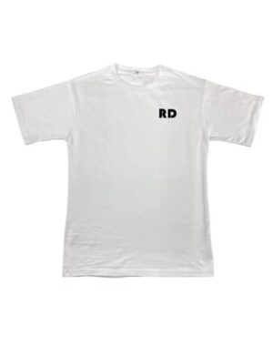 adult tshirt Wit RD This is how we roll
