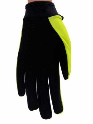 bmx handschoenen fluor geel
