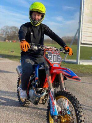 orange mx gloves oranje motorcross handschoenen RD
