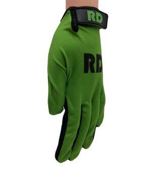basic line groene bmx mtb handschoenen