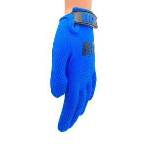 blauwe race bmx mtb motorcross handschoenen