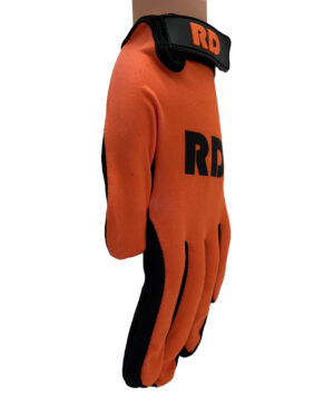 oranje handschoenen basic line