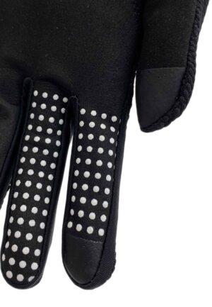 touchscreen grip details black glove