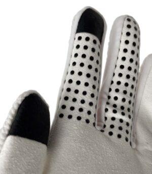 touchscreen grip witte handschoenen details