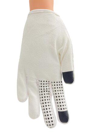 white race glove palm